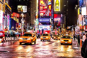 circuit etats unis new york th avenue times square  it