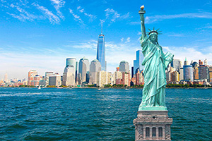 etats unis new york statue liberte  it