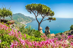 circuit italie cote amalfitaine campanie panorama  fo