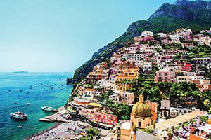 italie cote amalfitaine positano panorama  it