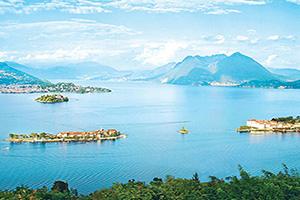 italie les illes borromees sur le lac majeur  fo