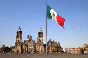 mexique mexico zocalo  it