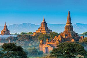 myanmar bagan panorama  fo