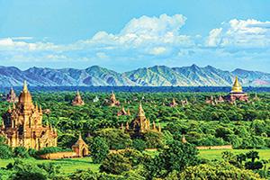 myanmar mandalay temples de bagan  fo