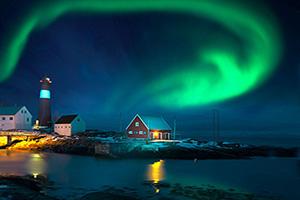 norvege aurores boreales  it