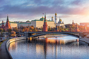 russie moscou panorama  fo
