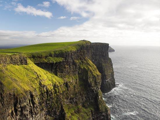 voyage irlande falaise moher mer