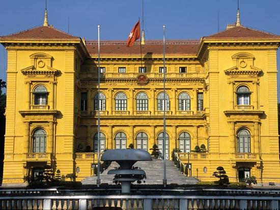 voyage vietnam hanoi palais presidentiel