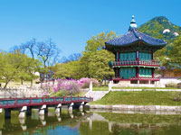 mini coree du sud seoul palais de l empereur  fotolia
