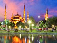mini turquie istanbul mosquee nuit   fotolia