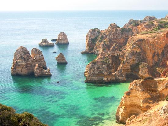 portugal lagos pointe da piedade  istock